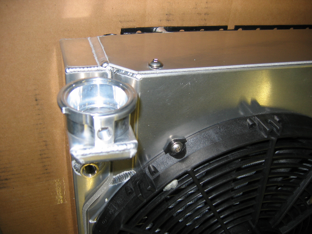 Ron Davis custom LSX radiator showed up today