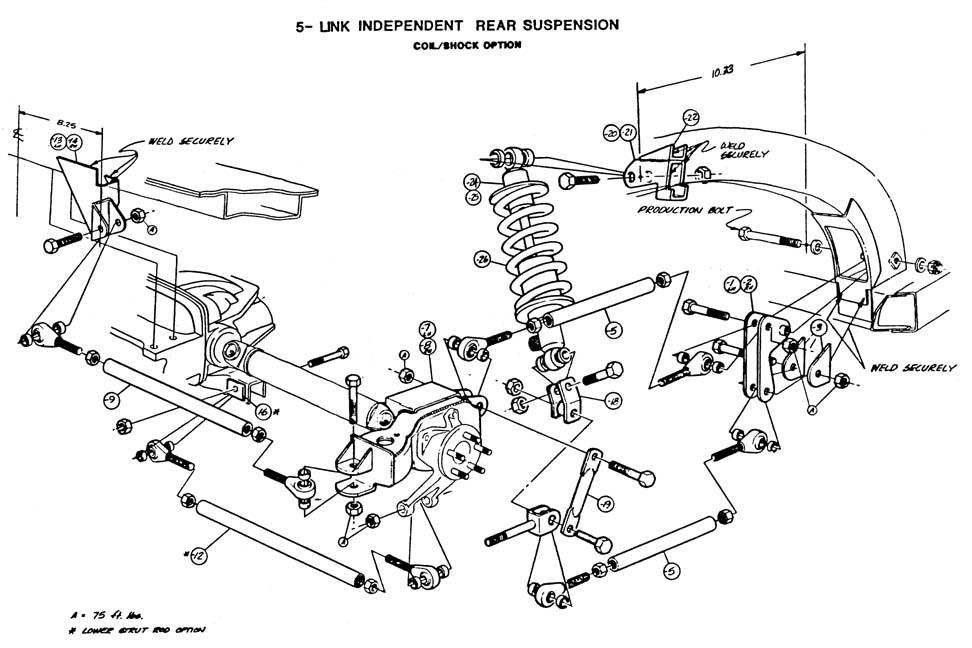 Suspension Dimensions