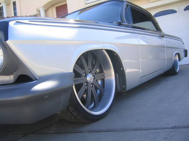 what wheels for a 62 impala 2 dr
