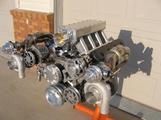 Nelson Racings new LSX twin turbo headers