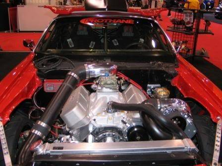 Procharged Chevy 350