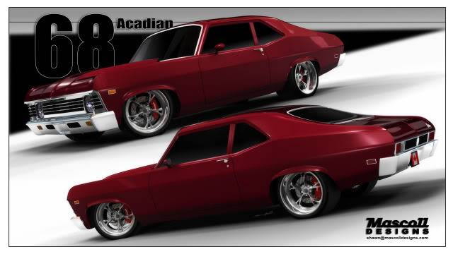Project Overtime Pro Touring 68 Acadian Nova With L92