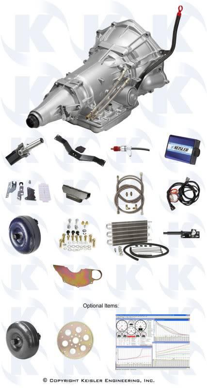PADDLE SHIFT Automatic w/ ENGINE BRAKING - Keisler A-41 for