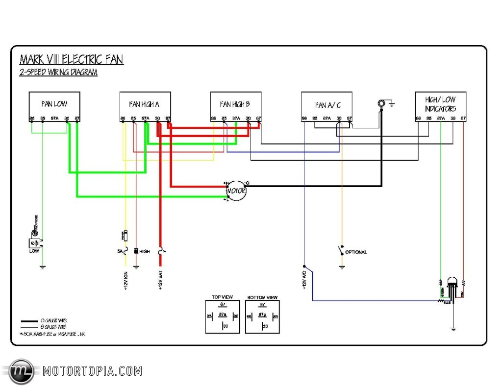 Mark VIII & SPAL V3 - Page 2 2001 lincoln town car radio wiring diagram Pro-Touring.com