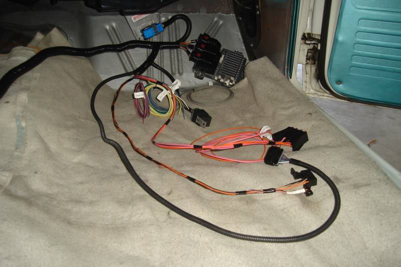 Kauffman Compressor Wire Harness on