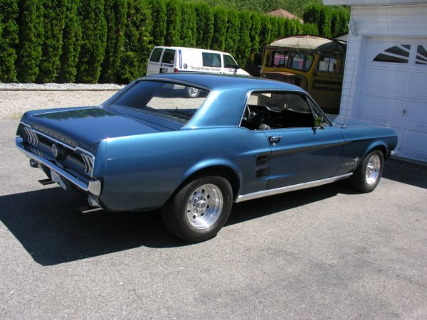 1967 Mustang Coupe, Project
