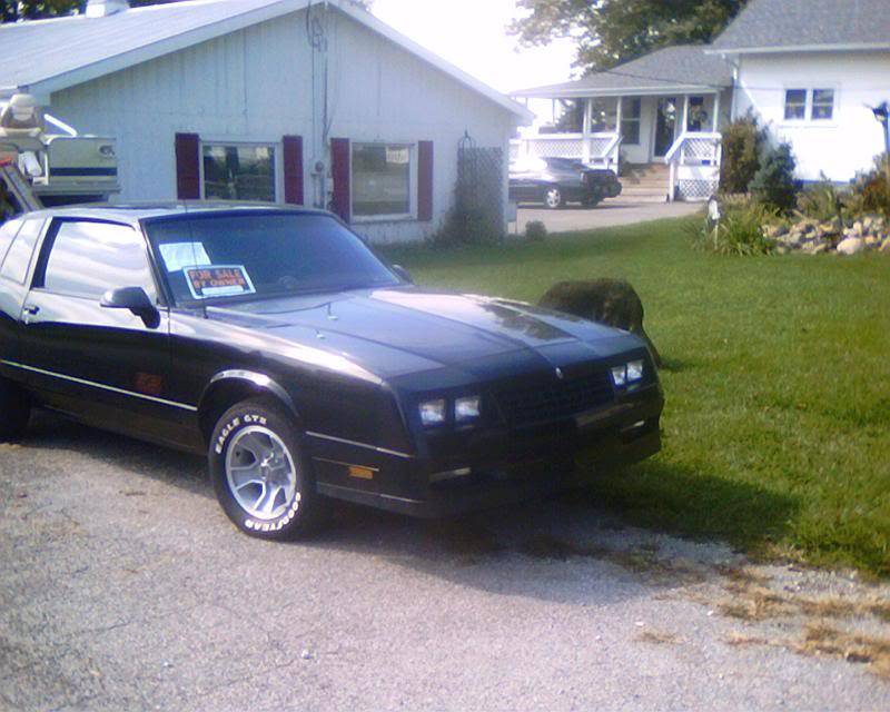 My 1987 Monte Carlo SS project