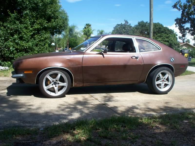 My 74 Turbo Pinto  Little Bit Different