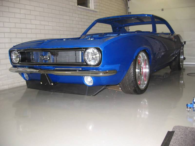 1968 Camaro Front Valance With Running Lights Page 2