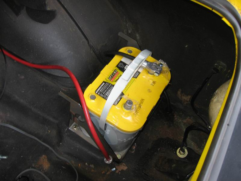 trunk mount battery, positive cable routing?here\u0027s a quick write up and pics of how i did it in my javelin asifnyc com ?p\u003d375