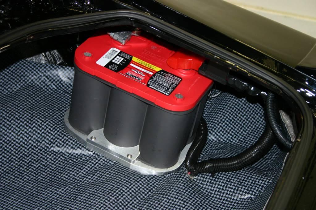 Trunkbatterysm on Chevy Camaro Battery Location