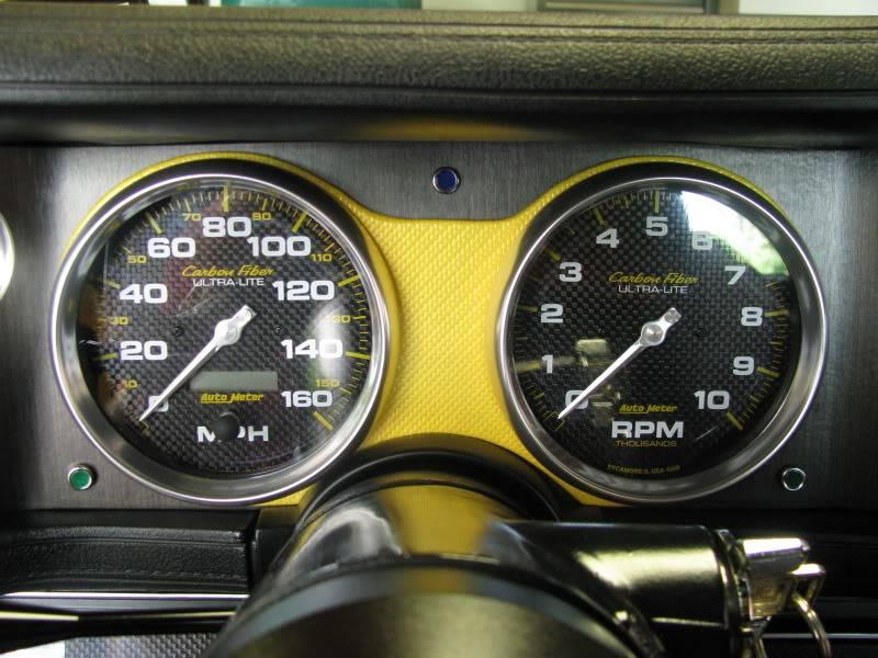 2nd Gen Camaro Autometer Gauge Bezel Build Part 1