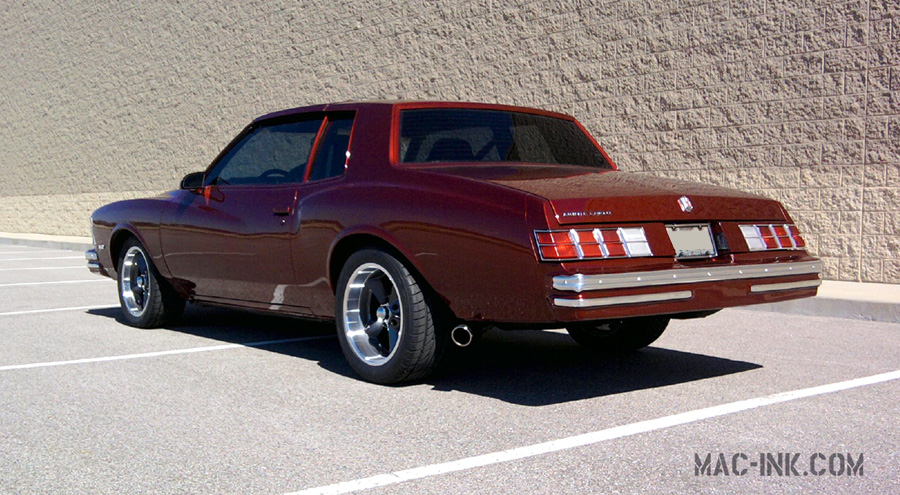 Monte Carlo Pro Touring >> '79 Monte - The Search for Animal Chin