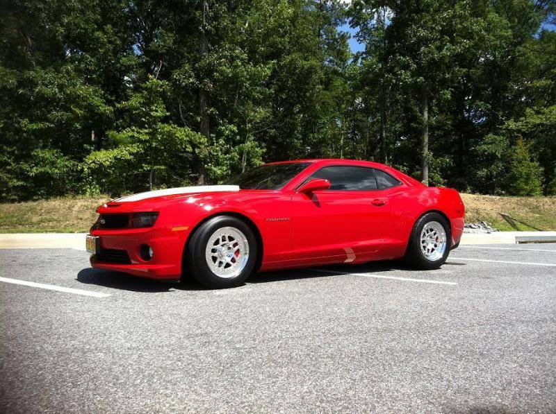 New 5th Gen Camaro SS with 17
