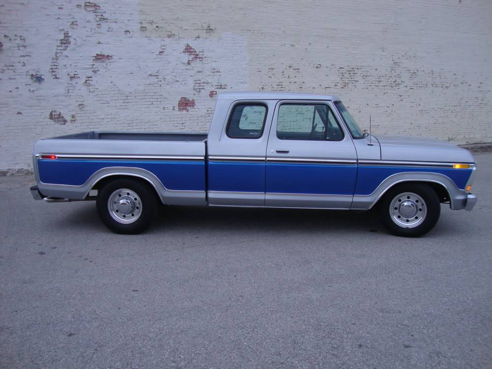2005 Ford F150 Lariat >> 1978 F-250 Supercab Short Bed Lariat Lowered!