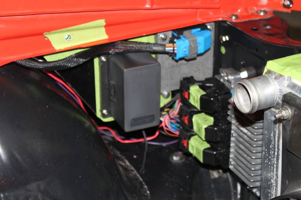 ls3 ecm install in '69 camaro 1968 camaro fuse box mounting  pro-touring.com