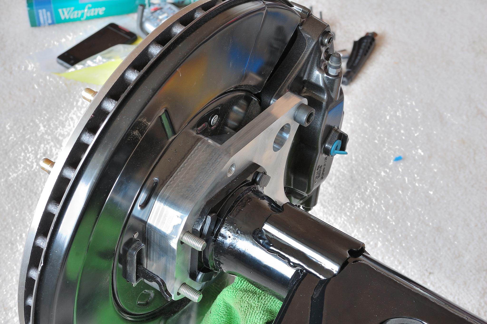 Cts V Brembo 6 Piston Swap On A 1st Gen Archive Wilwood Disc Brake Kitfront Rear6569 Mustangblack Ebay