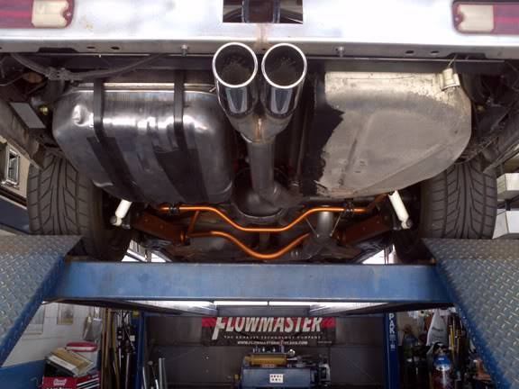 Where to find exhaust tech info?