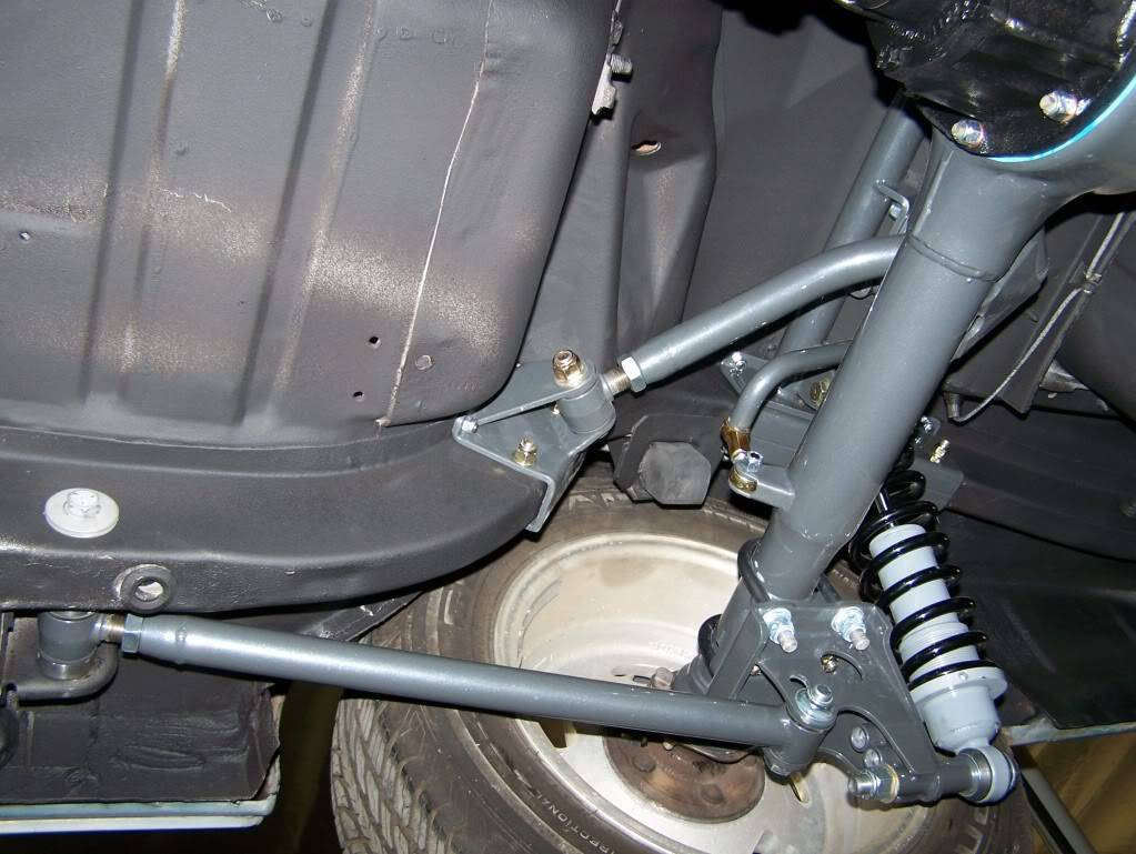 NEW Triangulated 4-Link for '64 5-'70 Mustangs