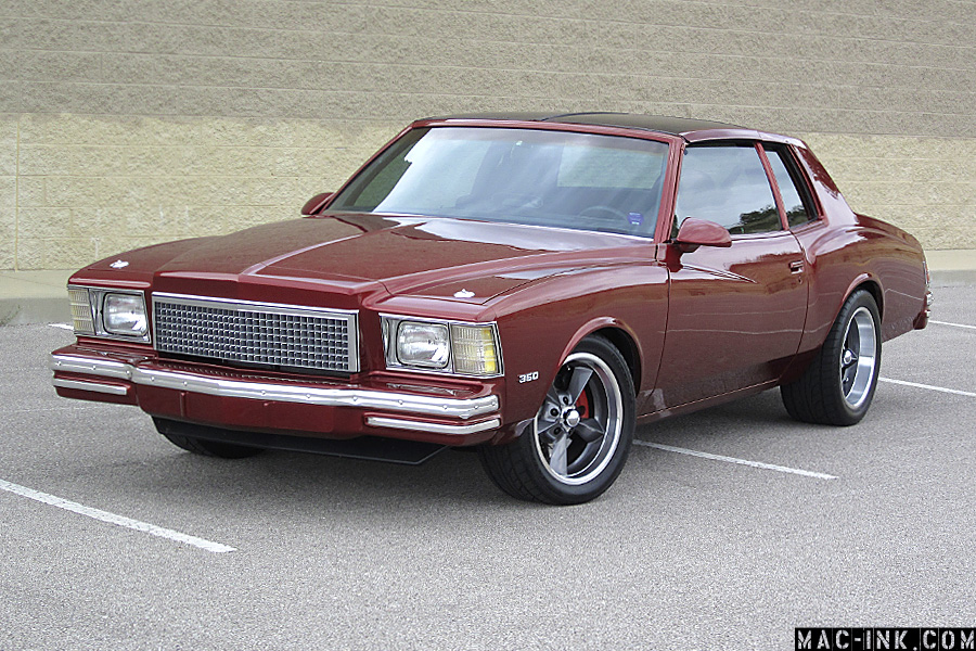1979 Monte Carlo Touring/Street Maching