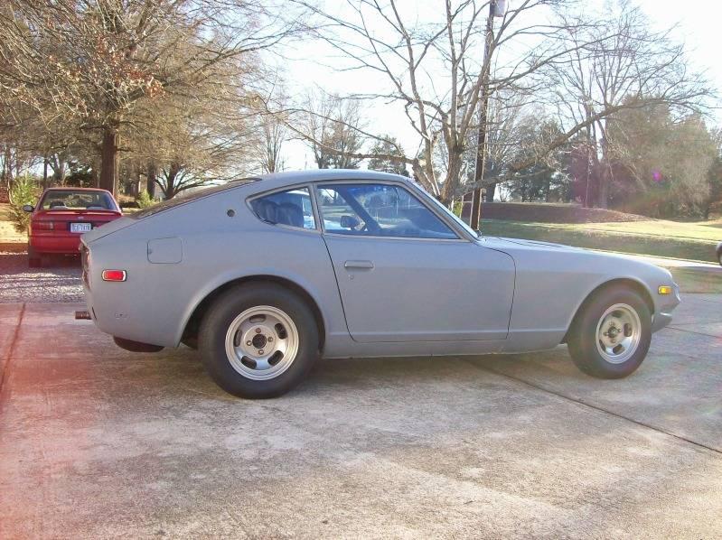 1978 datsun 280z in nc