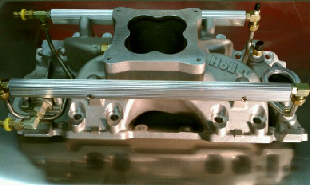 bbc  holley multi port fuel injection system