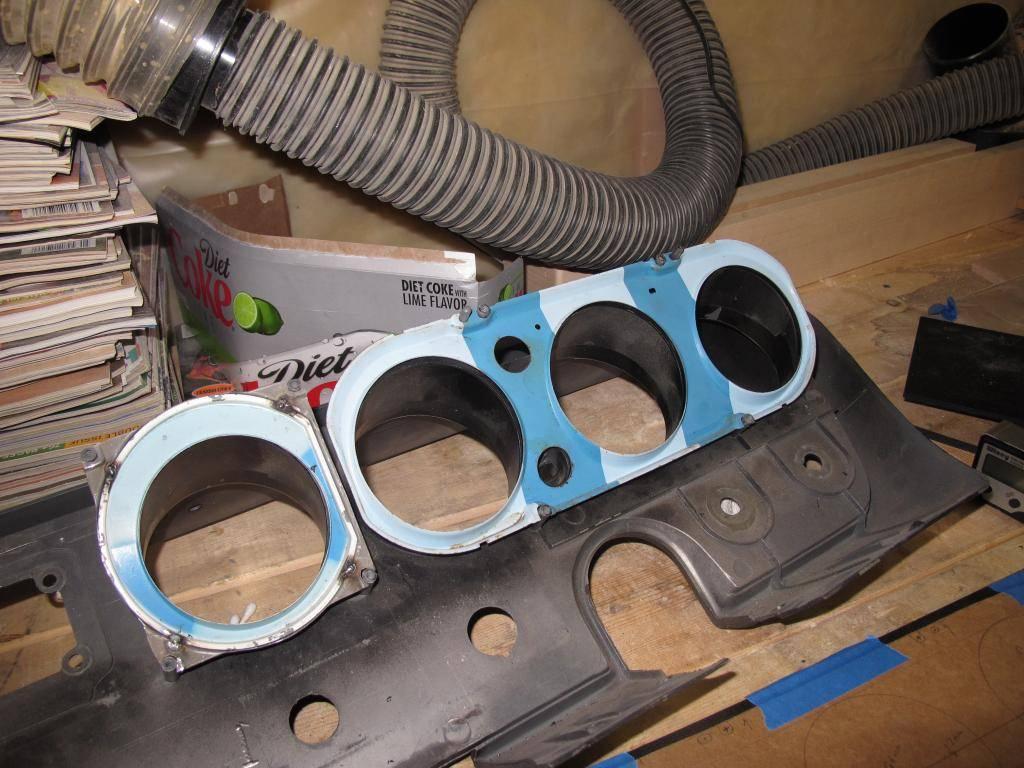Custom Speedhut Gauges in a 66 GTO