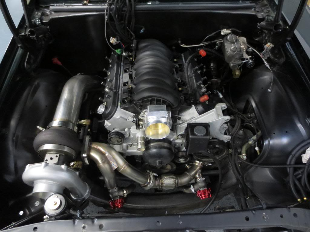 pictures of first gen camaros with ls1 turbo swaps?