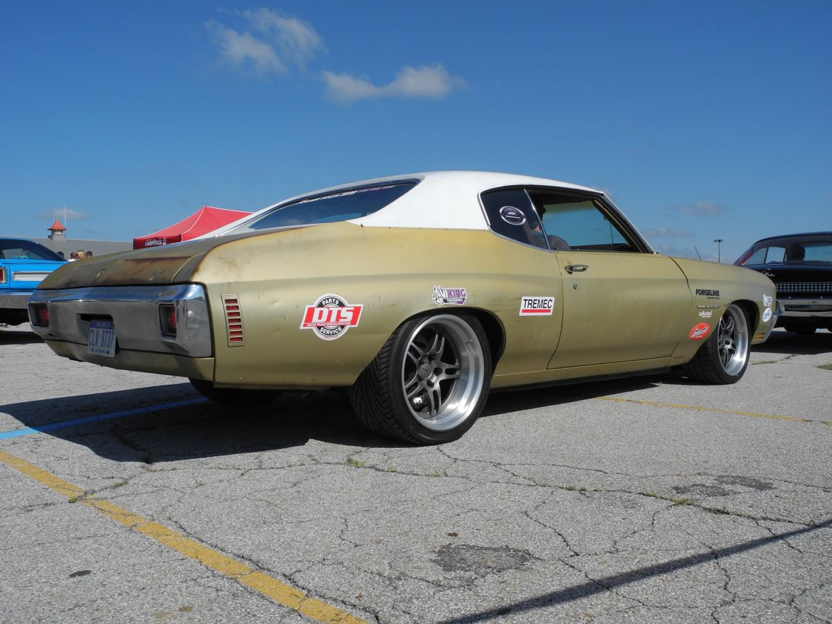 Tony G's 1970 Chevelle on Forgeline DS3 Wheels