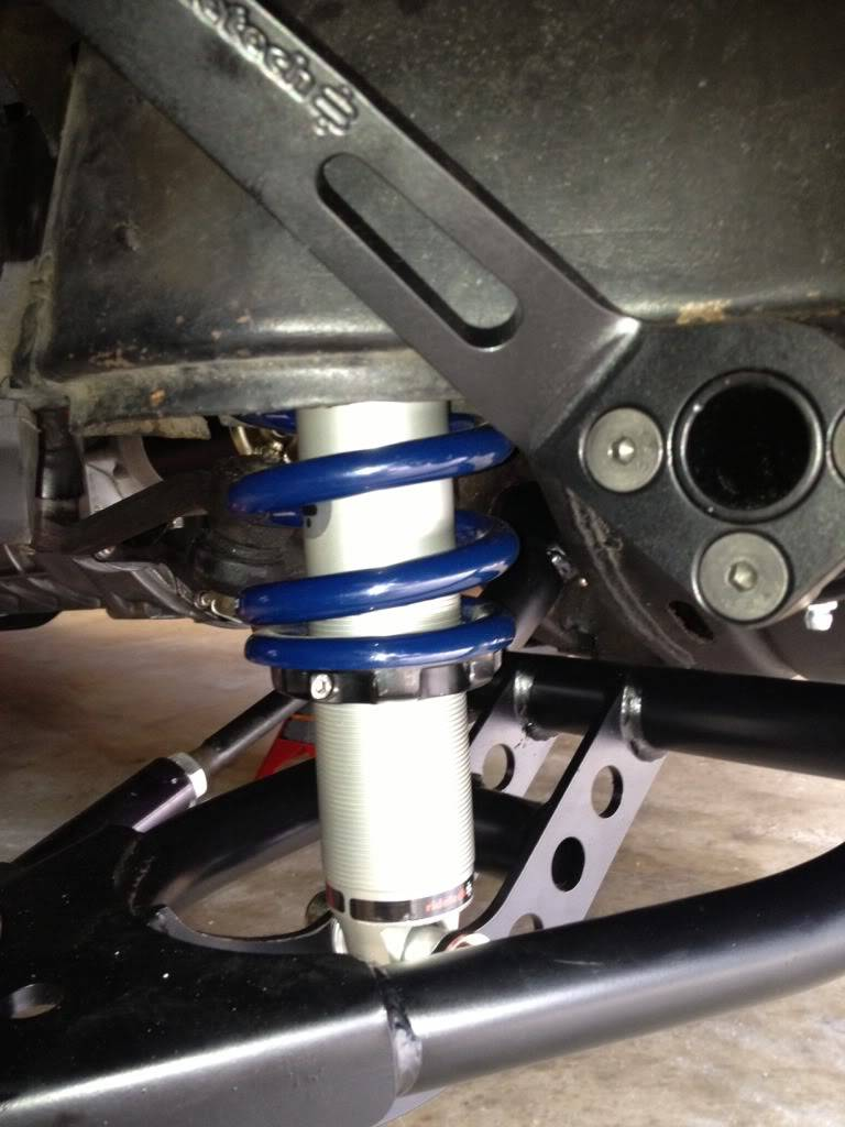 Ridetech Coilover Ride Height Adjustment