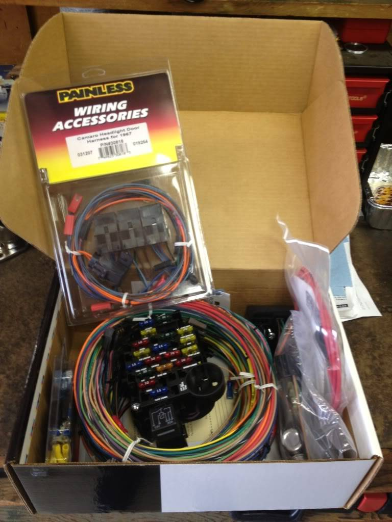 Brand New 67 68 Camaro Wire Harness And Rs Bosch I Also Have A Painless Which Has All Style Relays To Replace Those Old P N 30818 520 Or Best Offer