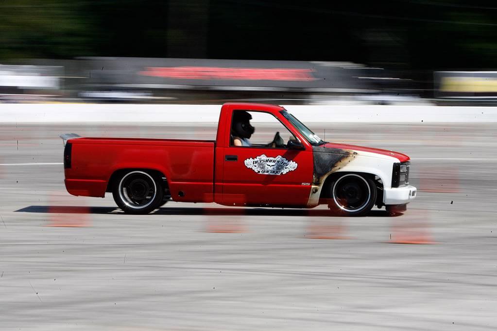 My 1997 C1500 autocross truck at LS Fest 2013