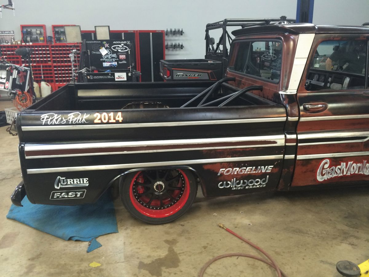 Lock Out Kit For Cars >> Gas Monkey Garage '65 Chevy C10 Pikes Peak Pace Truck on ...