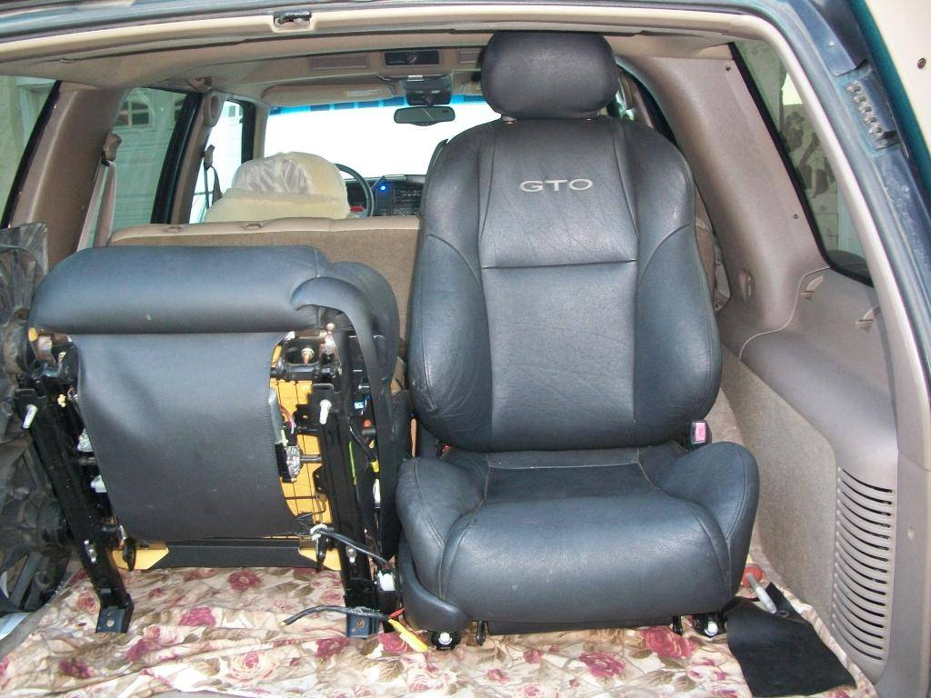 Upgrading Factory Seats