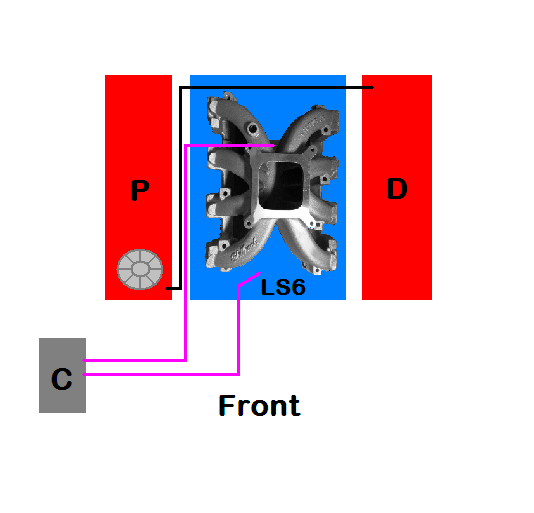 Carburated LS1 PCV System/ Catch Can set up need help