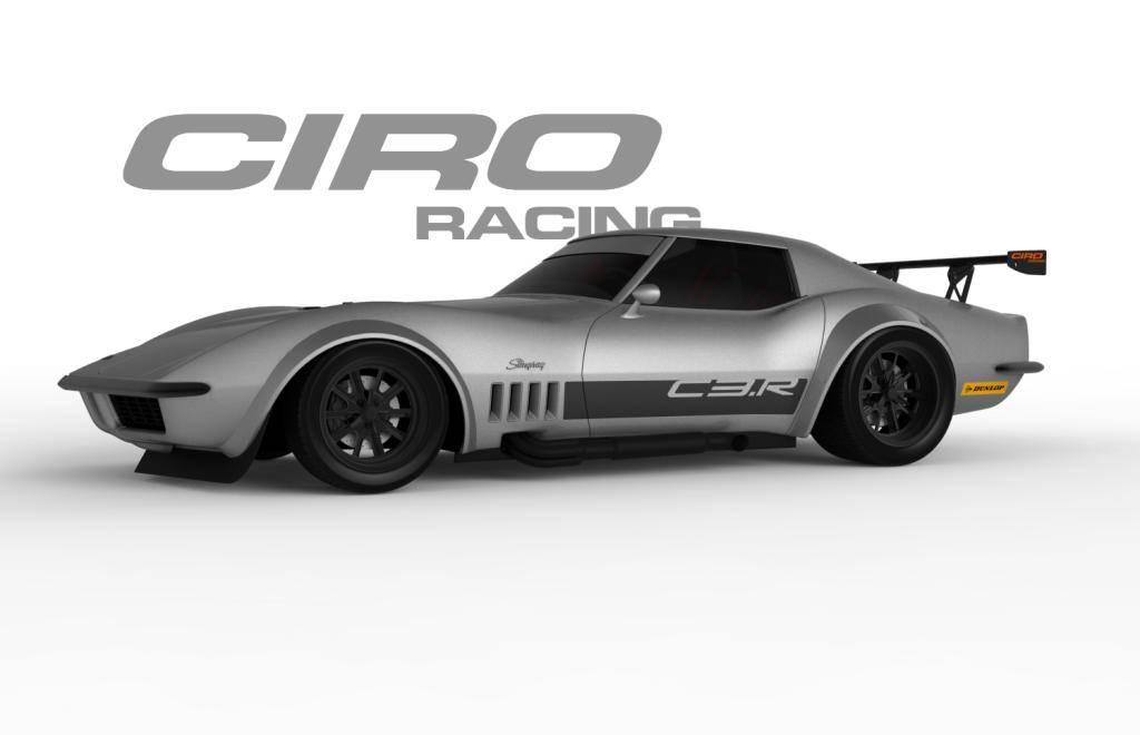 Ciro Racing C3 R 1968 Corvette For Street Autocross