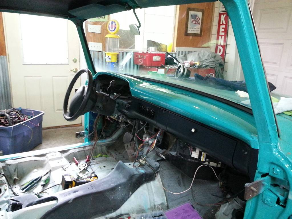 66 Ford F100 & 2004 Crown Vic body swap - Page 2