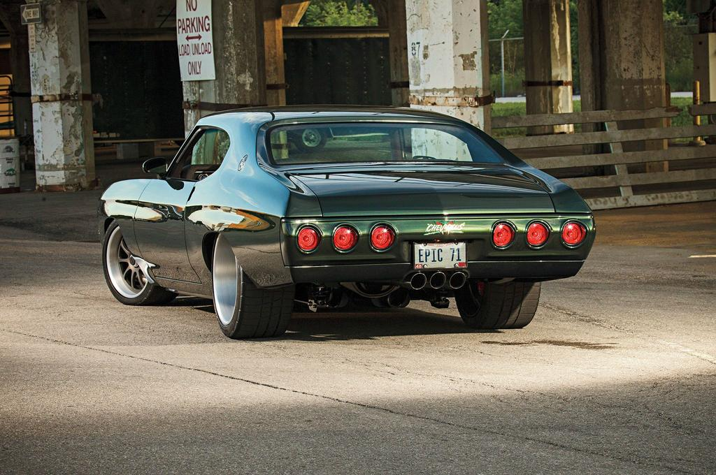 Smitty S Custom Automotive S Quot Chevicious Quot 71 Chevelle On