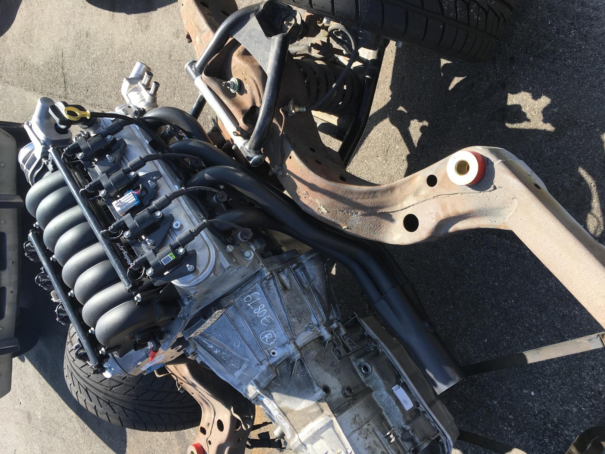 68-72 chevelle full pro touring suspension kit