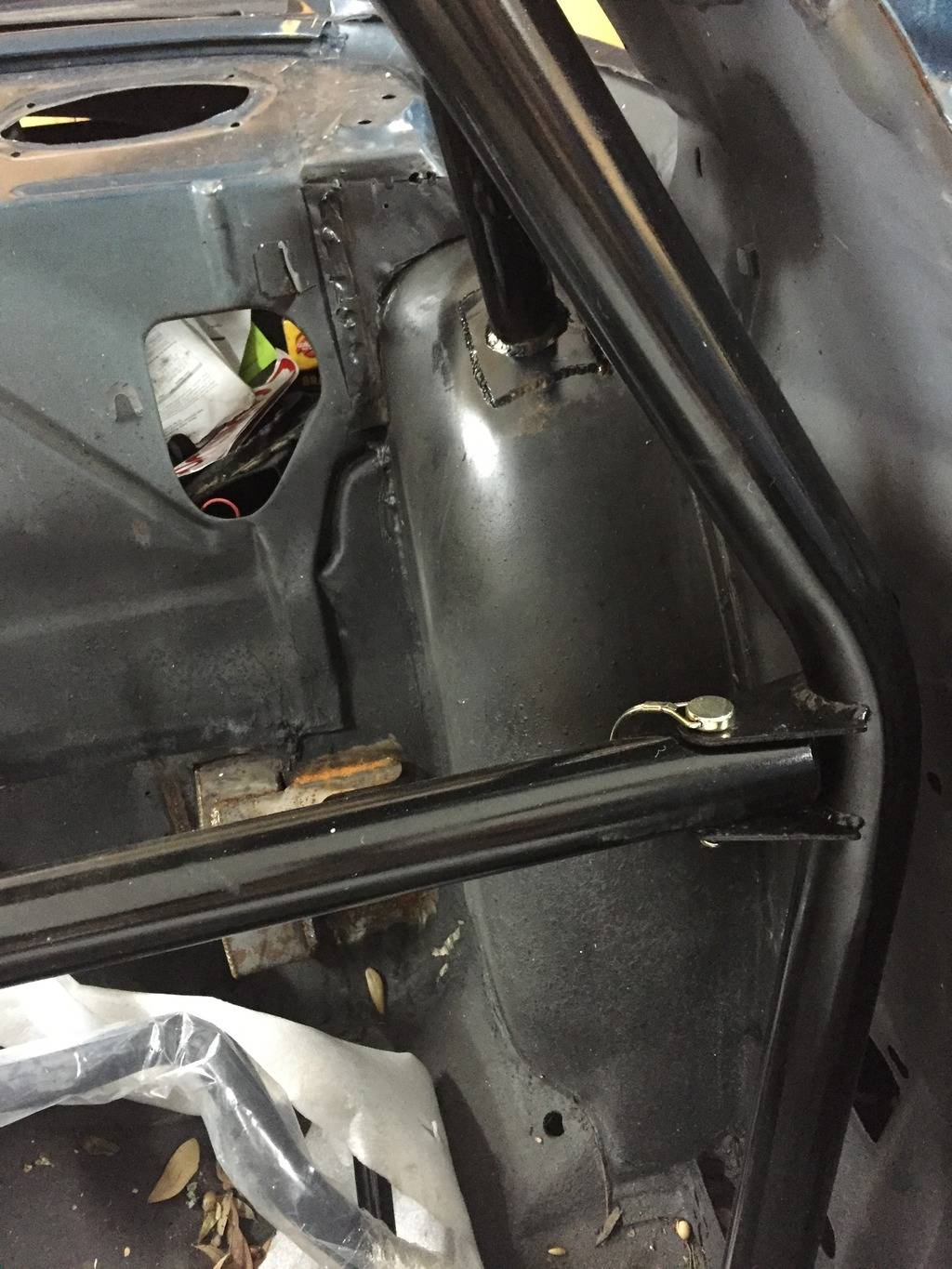 Roll Cage/Door Bar Compromise