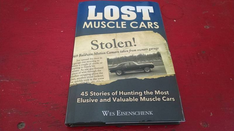 Other Car Manuals Lost Muscle Cars 45 Stories Of Hunting The Most ...