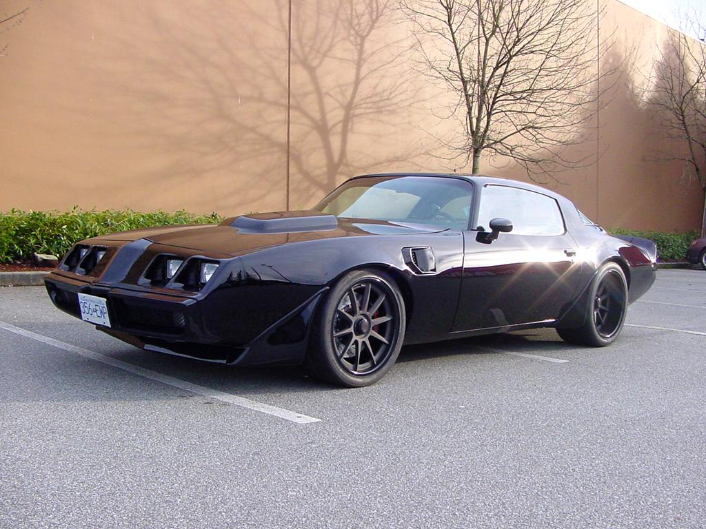 "Nitto Invo Tires >> Steve's ""BlackOut"" '81 Pontiac Firebird on Forgeline RB3C ..."