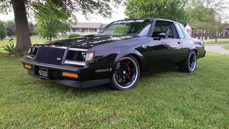 2016 Buick Grand National >> Richard Townsend's 1987 Buick Grand National on Forgeline CV3C Concave Wheels