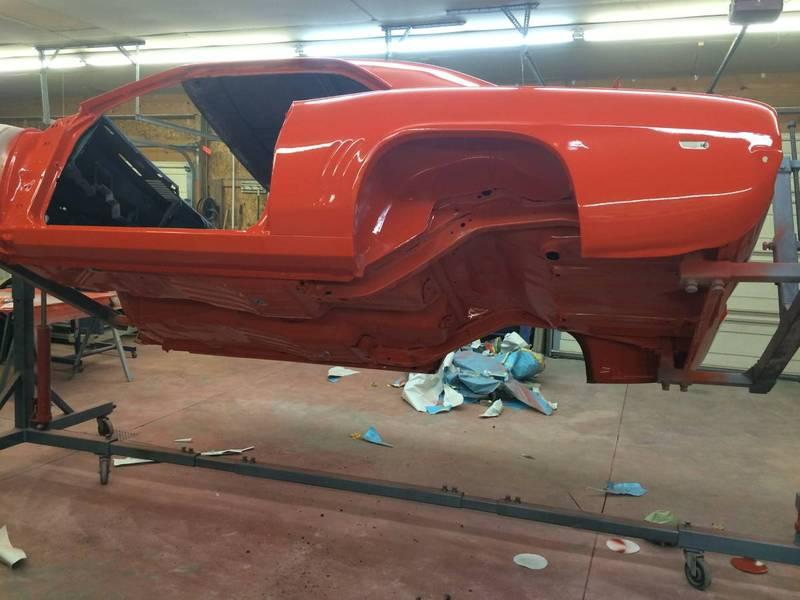 1969 Camaro - rotisserie restored - $32K
