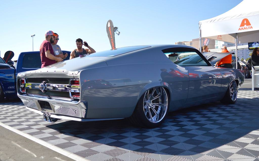 Carlos B Line Auto Quot Shadowless Quot 69 Ford Torino On