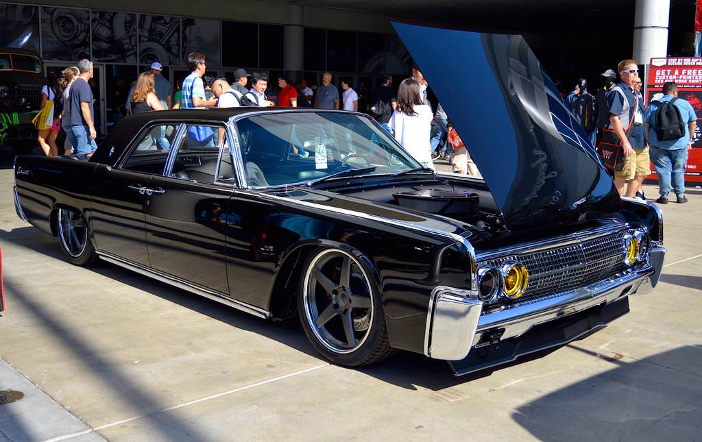 Pro Touring Wheels And Tires >> Nick Griot's J-Rod & Custom 1963 Lincoln Continental on Forgeline CF3C Wheels